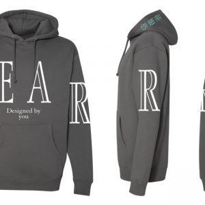 QURE FEAR Hoodie (Grey)